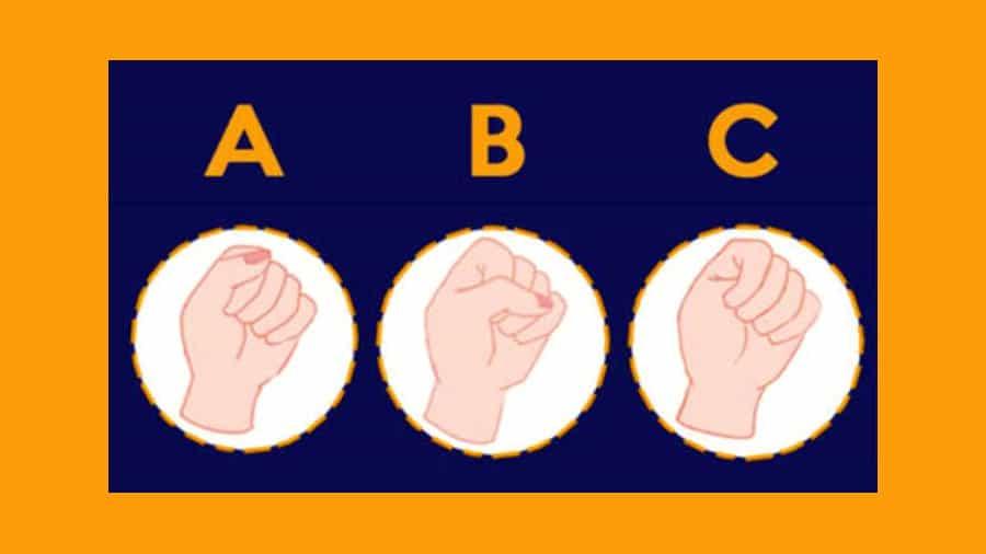 ¿Cómo cierras la mano?