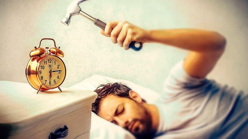 despertarse temprano trabajar