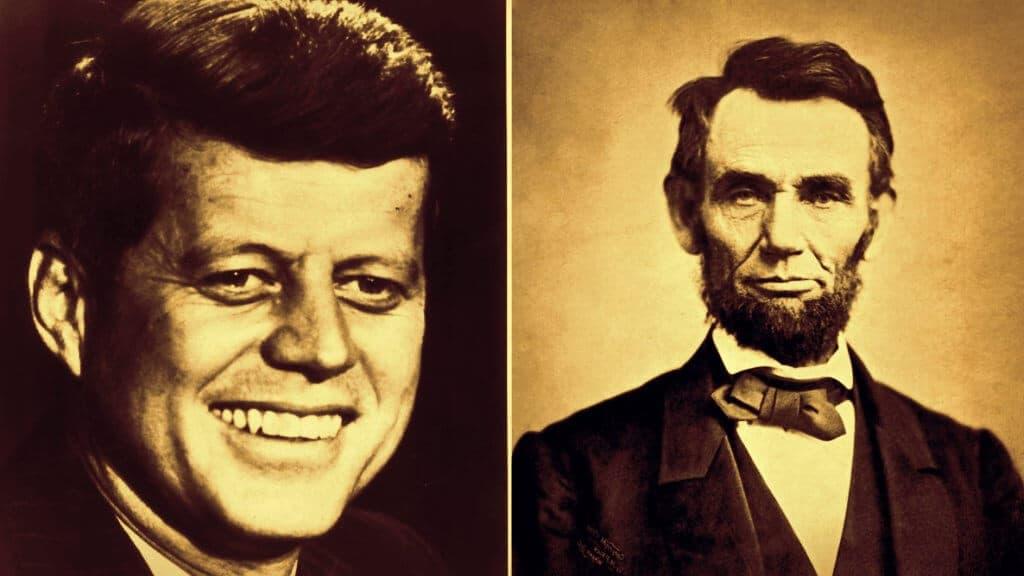 Abraham Lincoln y John F. Kennedy