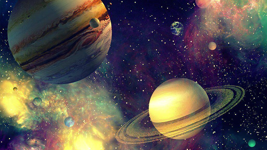 Júpiter Saturno