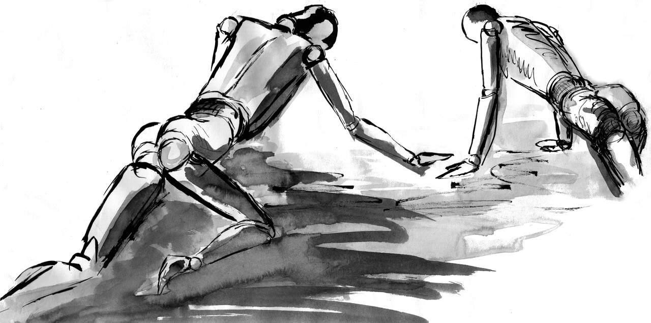 Arrodillarnos ¿Manifestación de sumisión ó humildad?