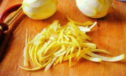 Cáscara de Limón – Remedios Caseros