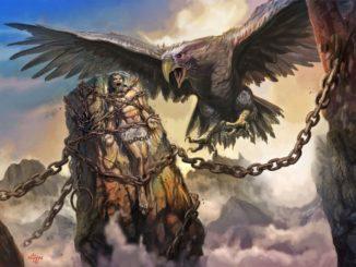 Leyenda de Prometeo Encadenado