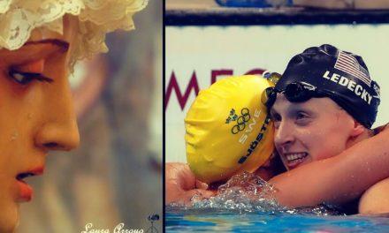Katie Ledecky bate récords en Olimpiadas Río 2016 con una oración a la Virgen