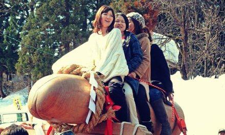 Festival Hodare de Japón para la felicidad matrimonial, fertilidad y suerte