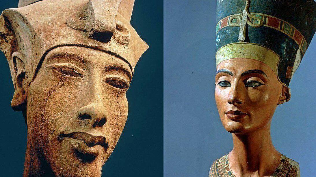 Akenatón faraón esposo de Nefertiti