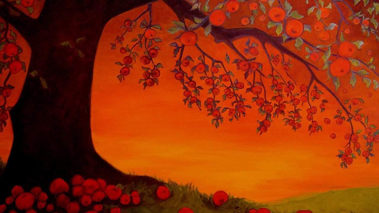 El árbol de las manzanas
