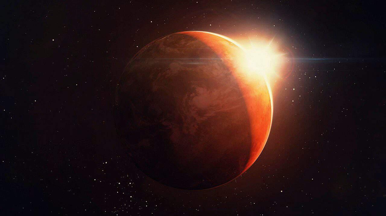 Conjunción entre el Sol y Marte en el Signo de Leo