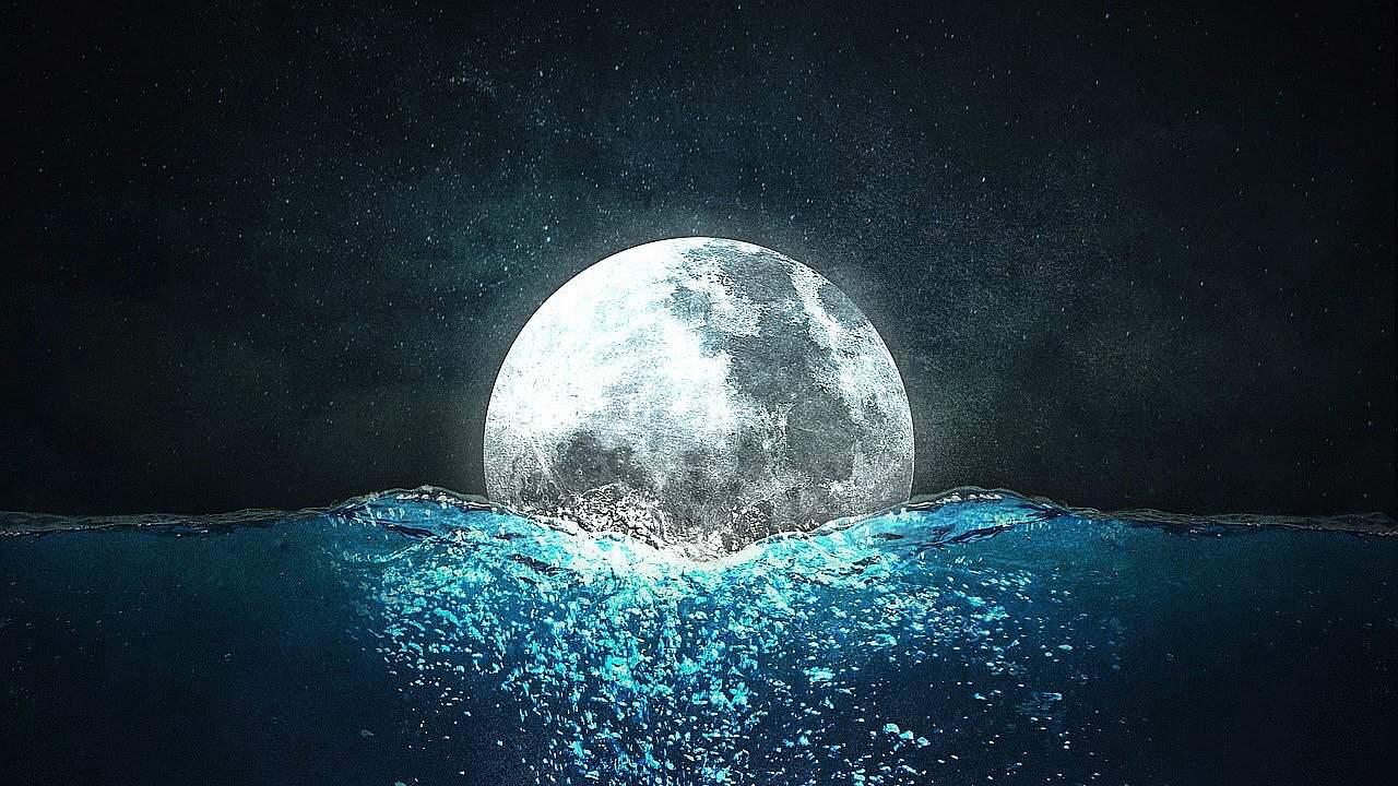 Eclipse Lunar 7 de Agosto y Luna Llena en Acuario