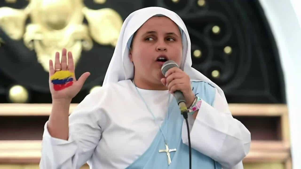 La monja rapera que le cantará al Papa en Colombia