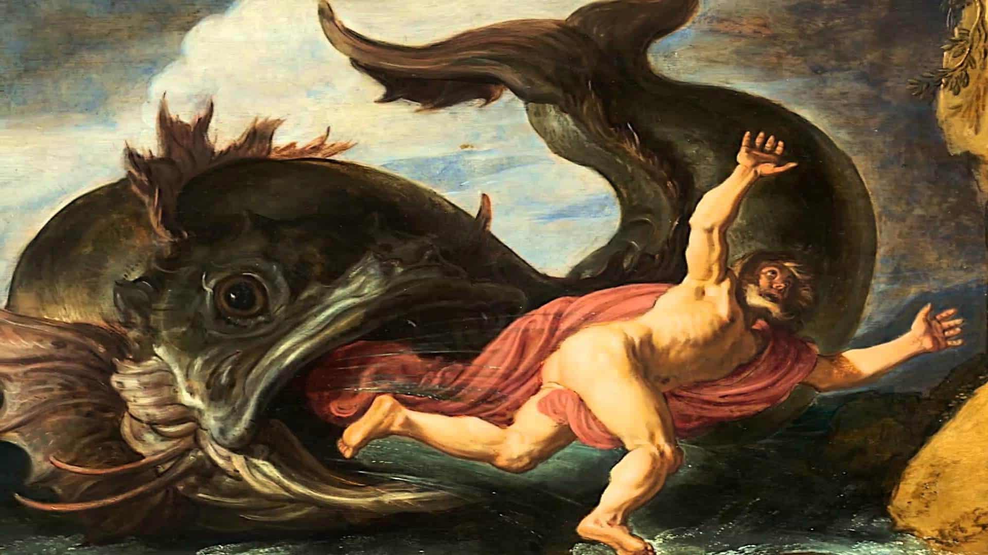 Jonás estaba en el estómago del pez