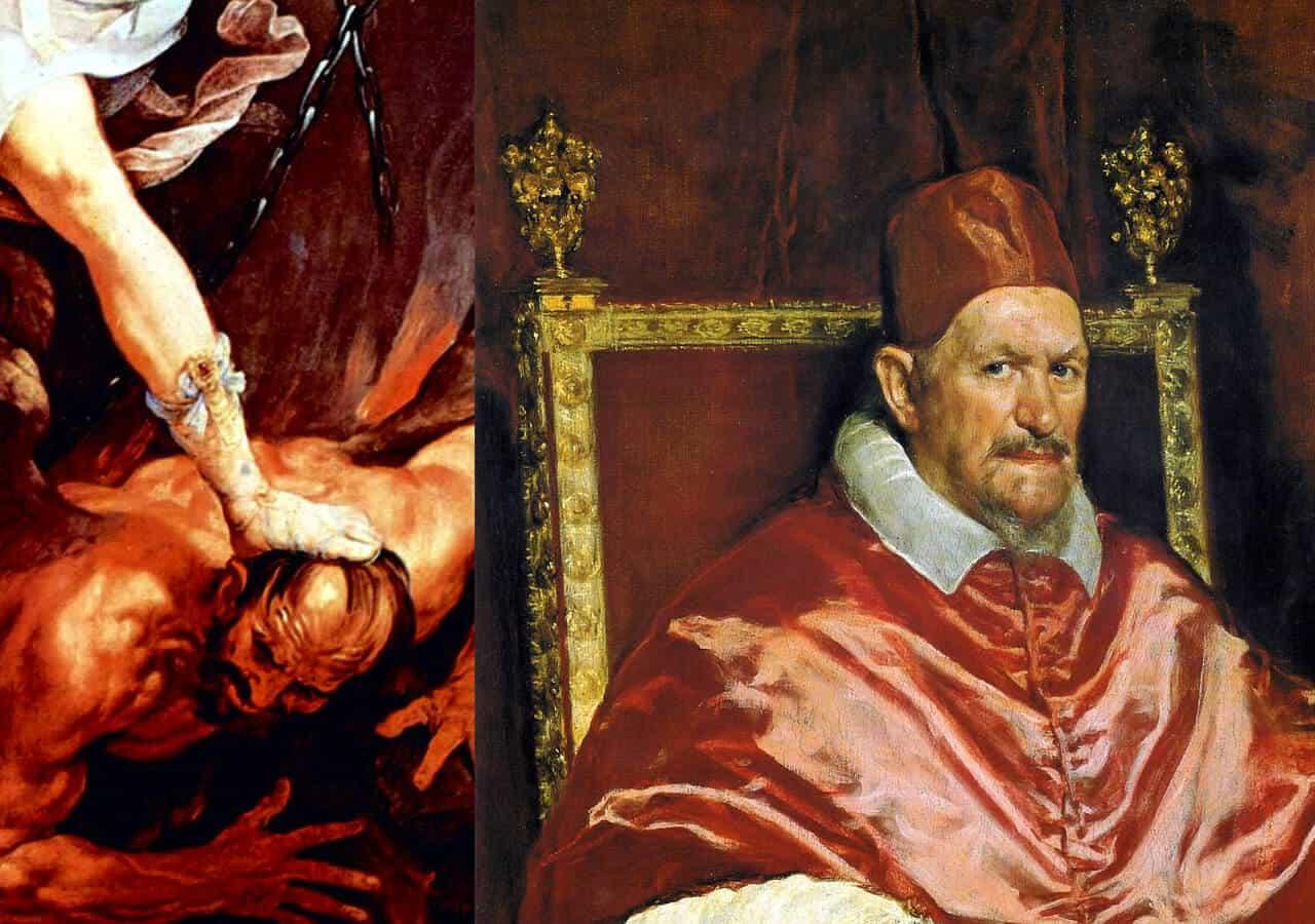Cuando se descubrió que el diablo tenía la cara del futuro Papa Inocencio X