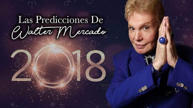 Predicciones Astrológicas 2018 Walter Mercado