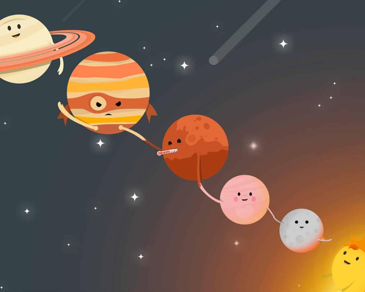 4 de febrero amanecemos con una alineación planetaria de gran fuerza