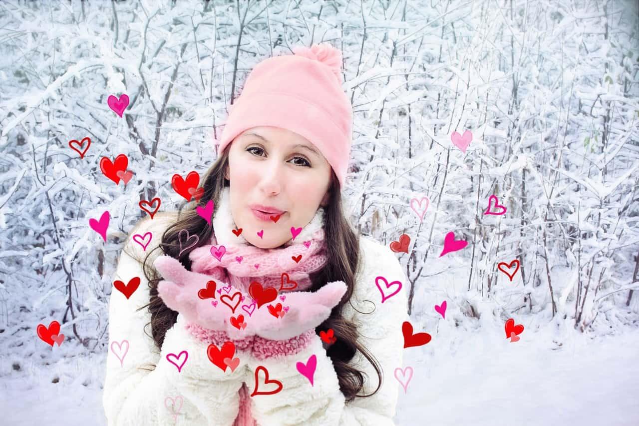 La tradicional fiesta de amor del día de San Valentín