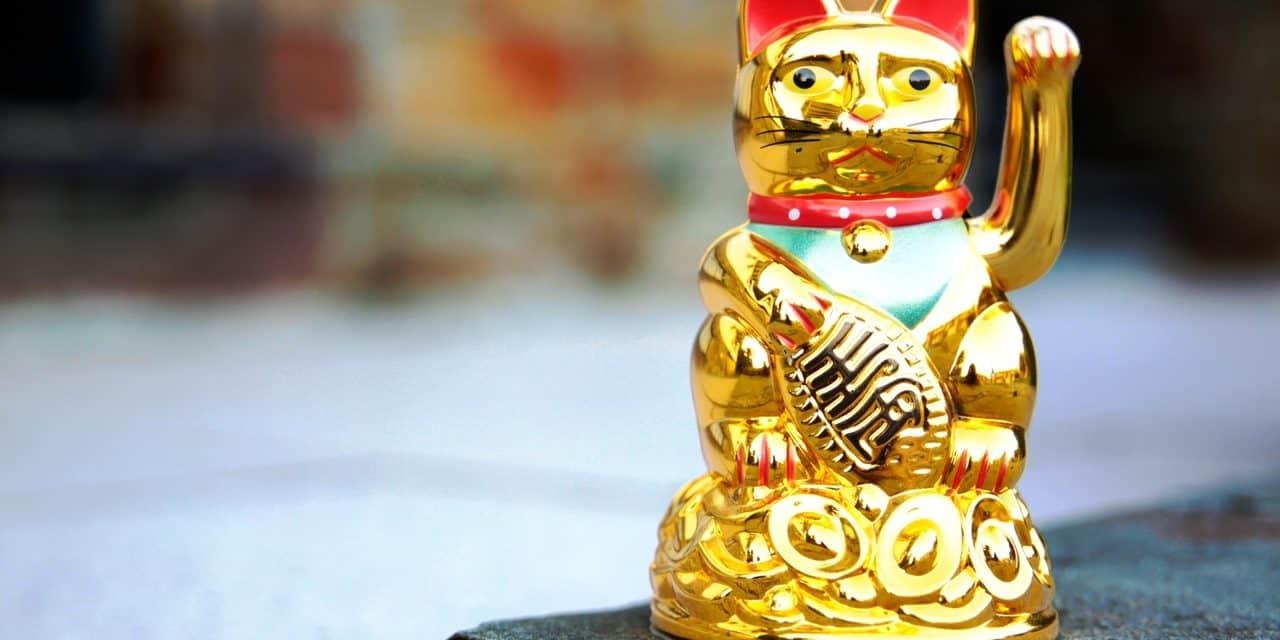 Maneki Neko Gato de la Buena Suerte – Leyenda – Simbología