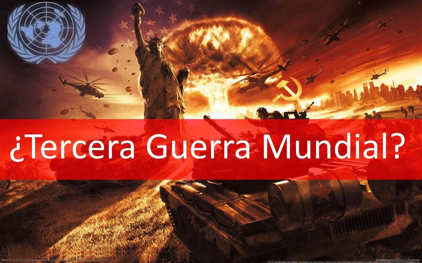 Tercera guerra mundial es inevitable