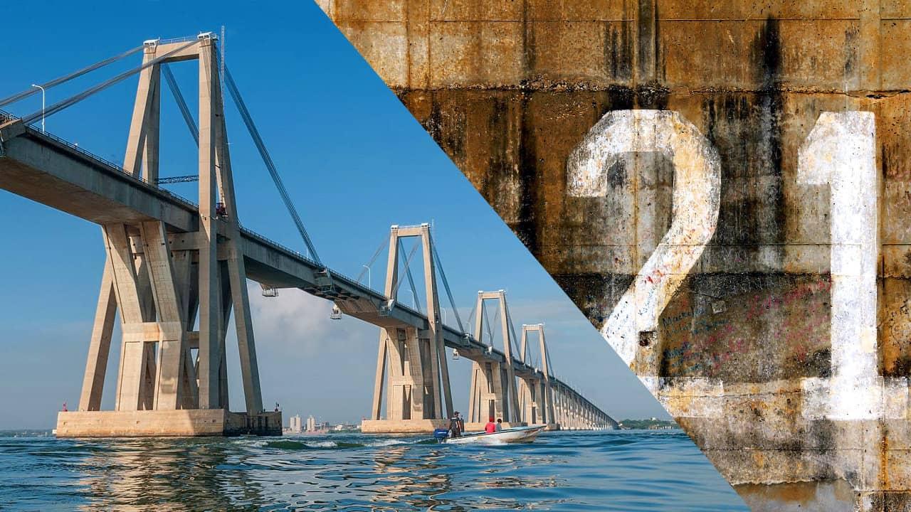 Maldición de la Pila 21 del Puente Lago de Maracaibo