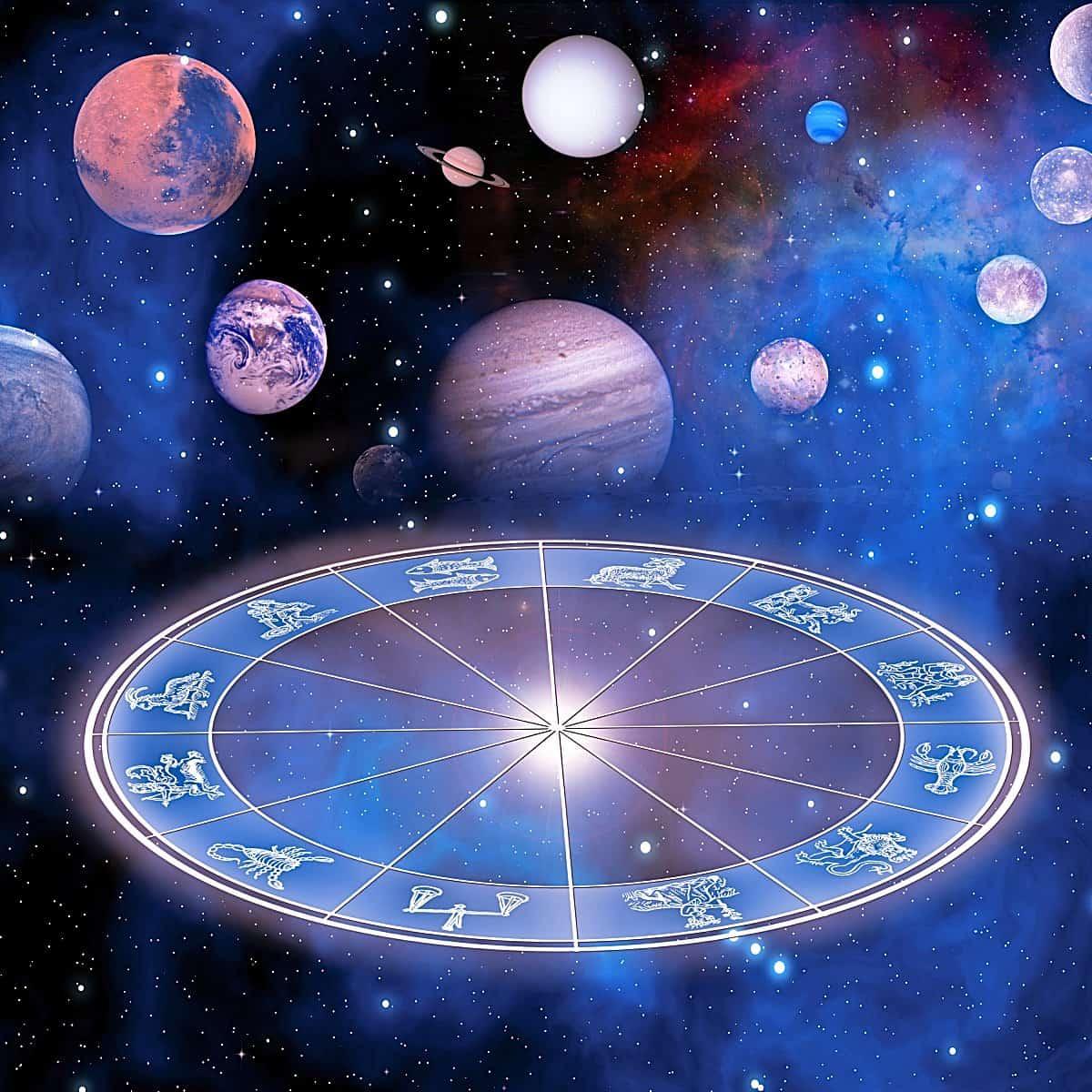 El horóscopo es una representación gráfica de las posiciones planetarias en un momento especial
