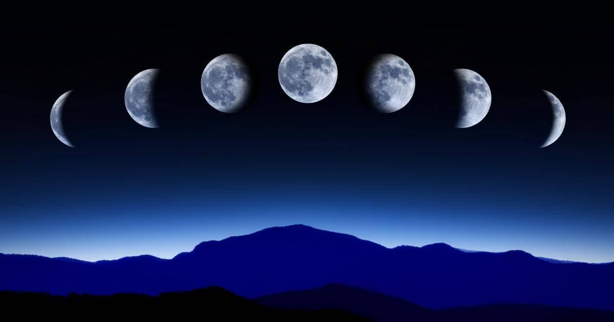 Calendario y Fases Lunares Noviembre 2018