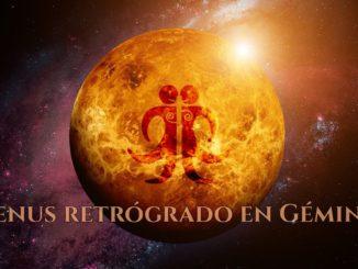 Venus retrógrado en Géminis