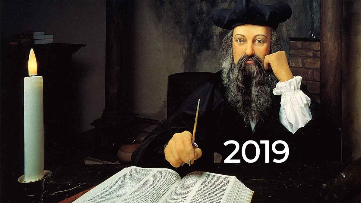 Profecías Nostradamus Año 2019