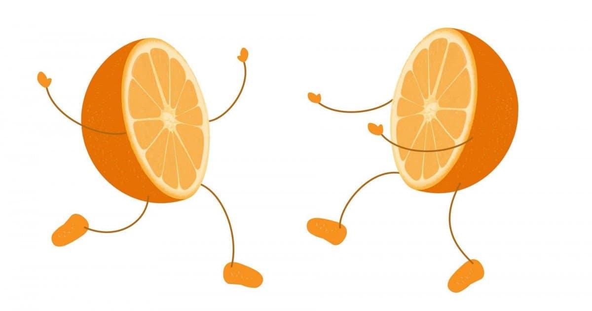 Mi media naranja…