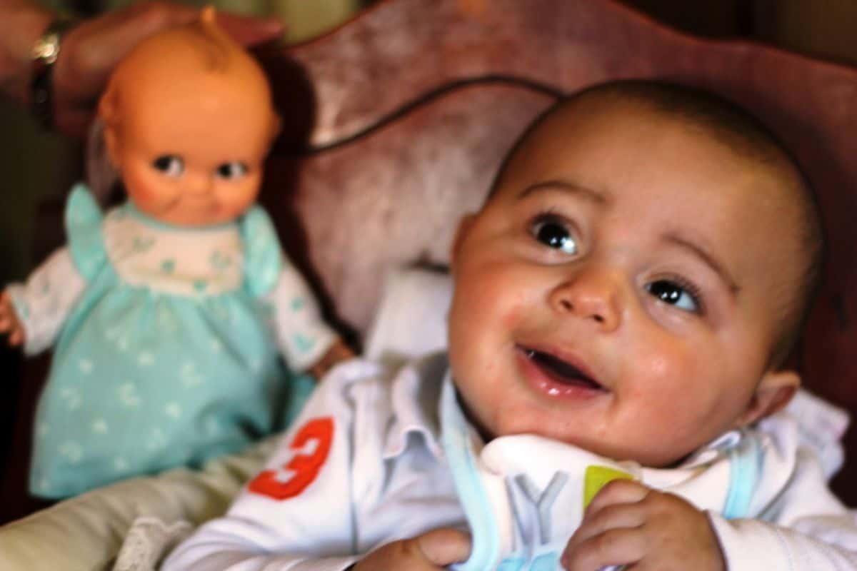 Efecto de la muñeca Kewpie y el cuidado de los niños