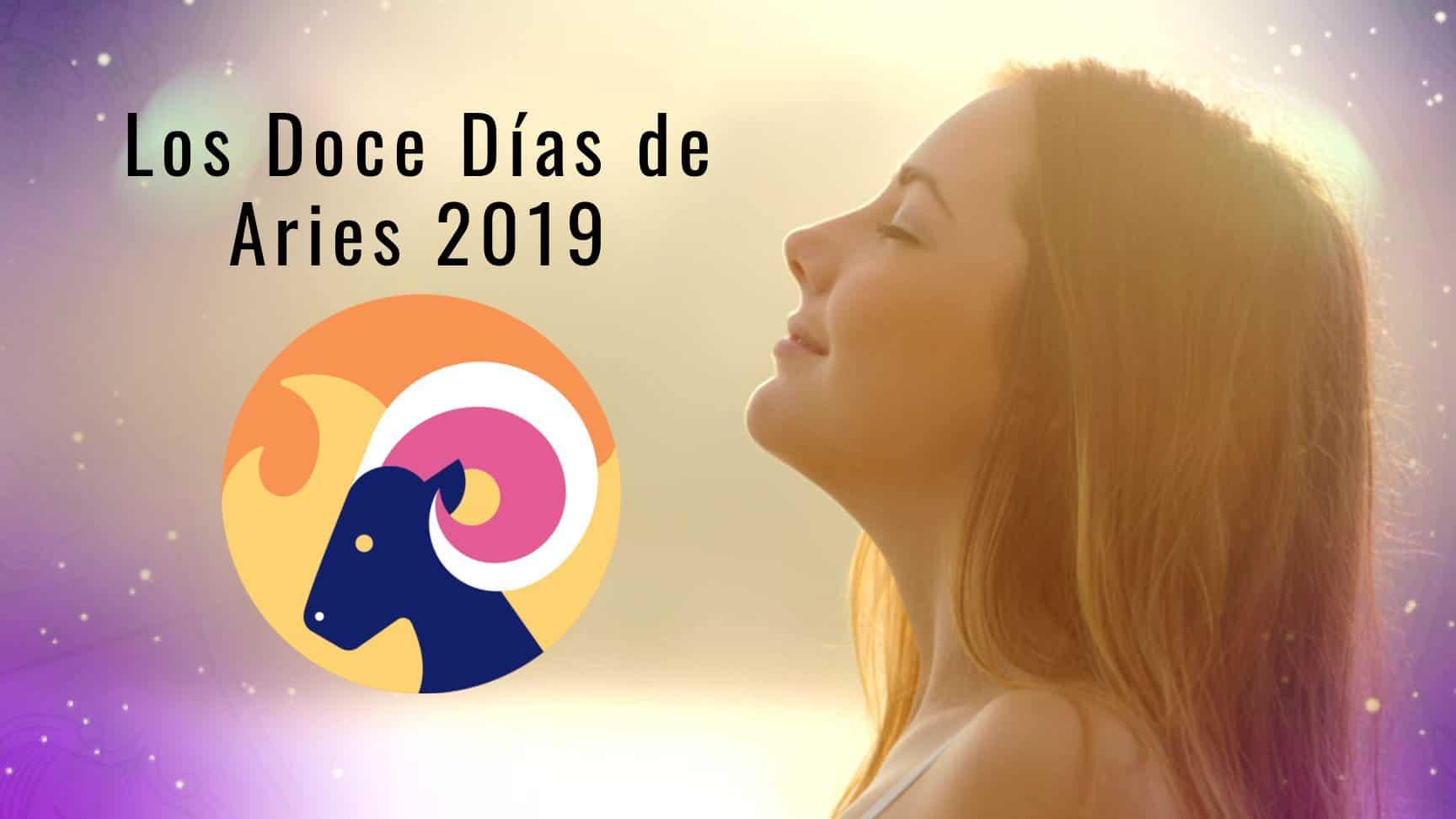 12 Días de Aries Año 2019 – Mantras, consejos y meditaciones