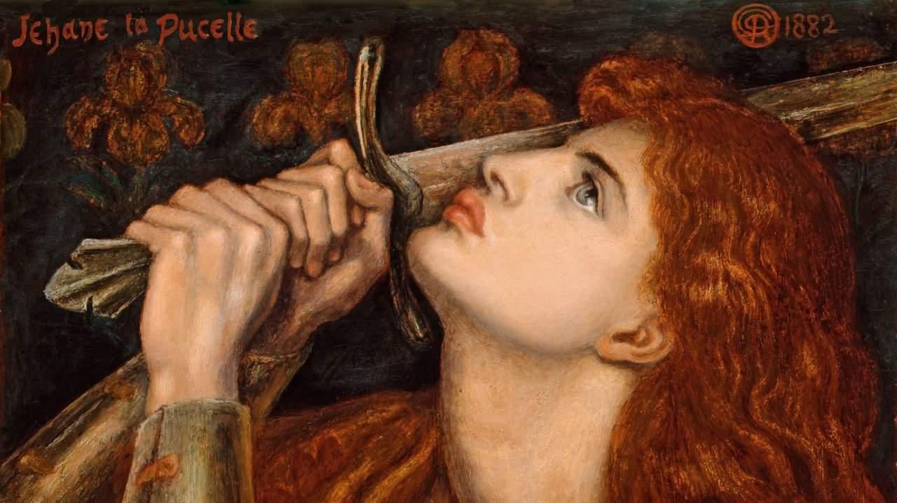 La vida de Juana de Arco La Doncella de Orleans