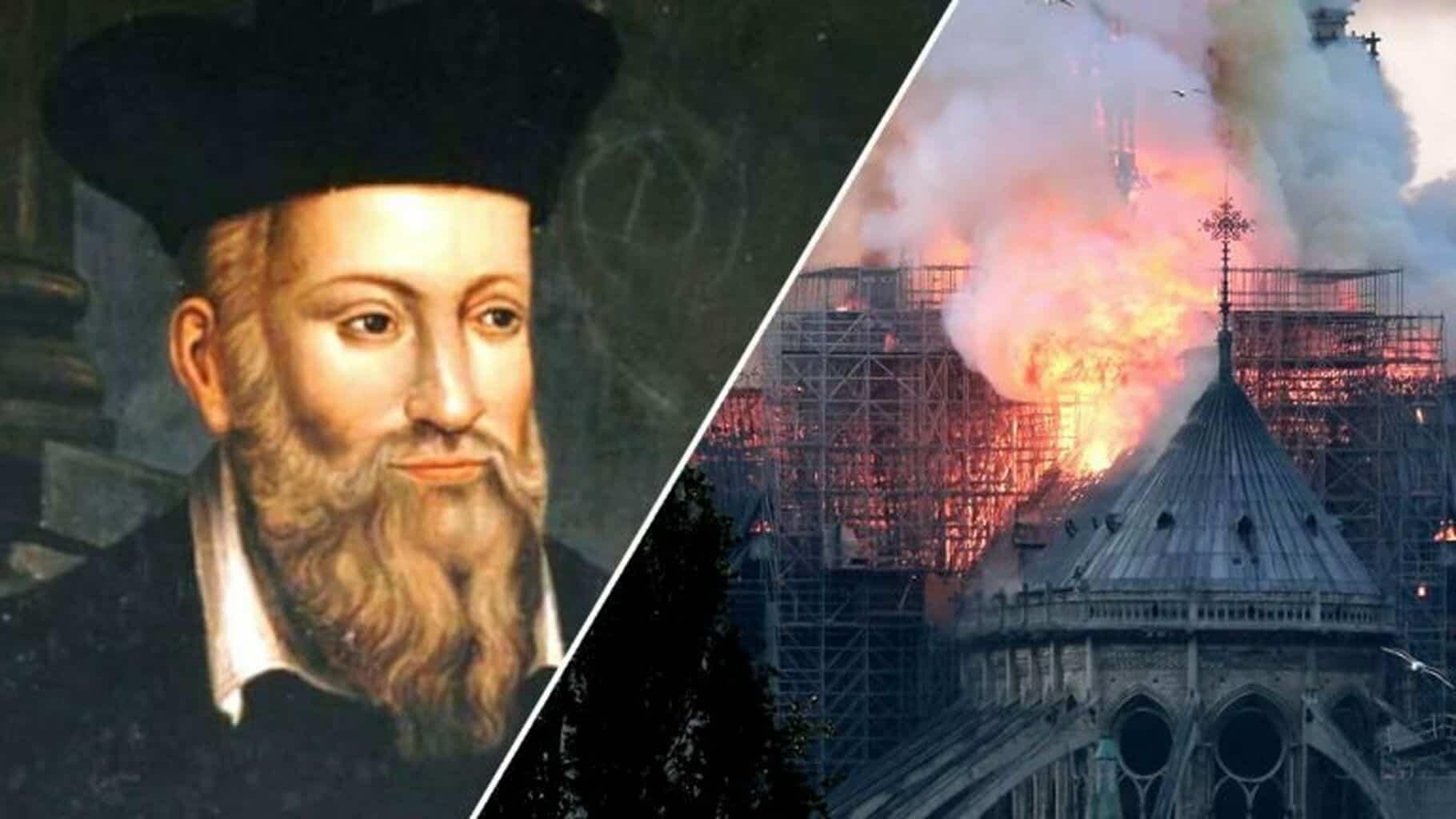 Predicción de Nostradamus sobre incendio de la catedral de Notre Dame