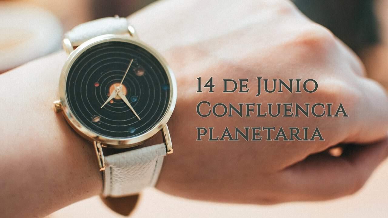 Confluencia planetaria en el grado 18