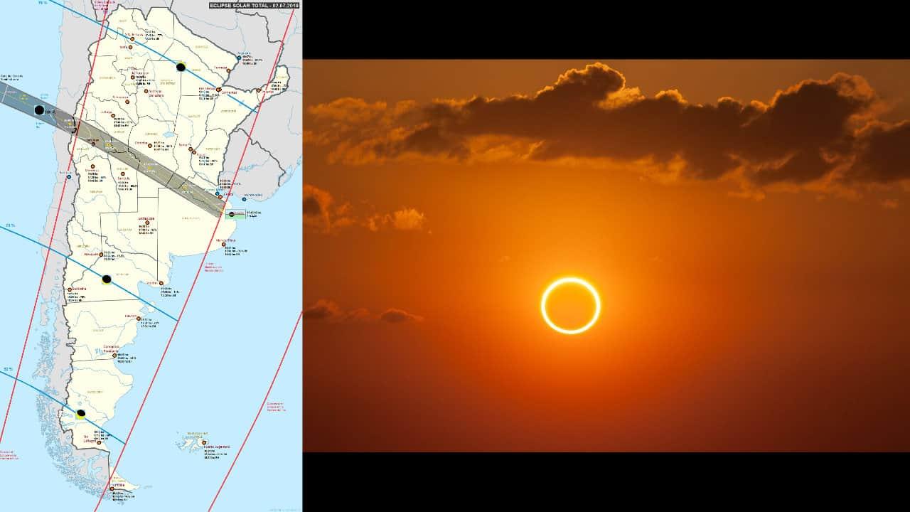 Eclipse Total de Sol 2 de Julio 2019