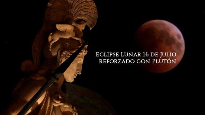 Eclipse Lunar 16 de Julio reforzado con Plutón