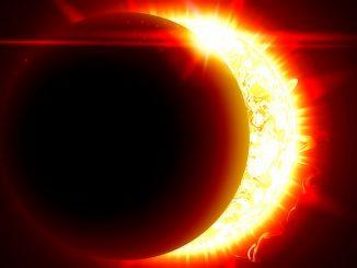 Eclipse solar en Cáncer