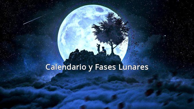 Calendario y Fases Lunares Agosto 2019
