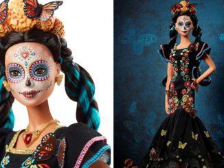 Barbie del Día de Muertos