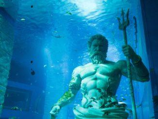 Poseidón Dios Griego del Mar