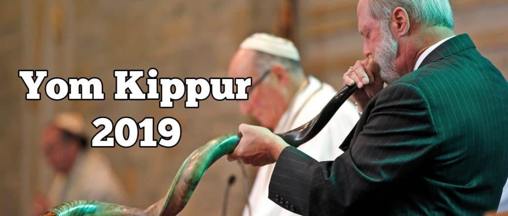 Yom Kippur 2019