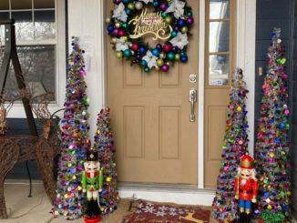 Decorar Puerta de Navidad