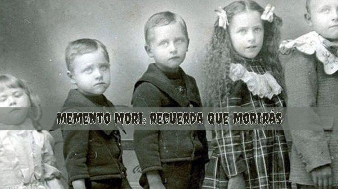 Memento mori: recuerda que morirás