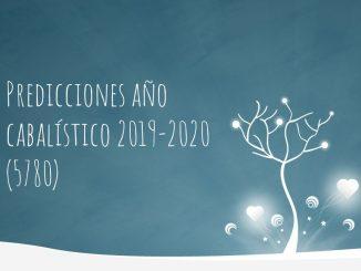 Predicciones año cabalístico 2019-2020 (5780)