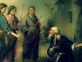 Tercer ángel que se le presentó a Abraham