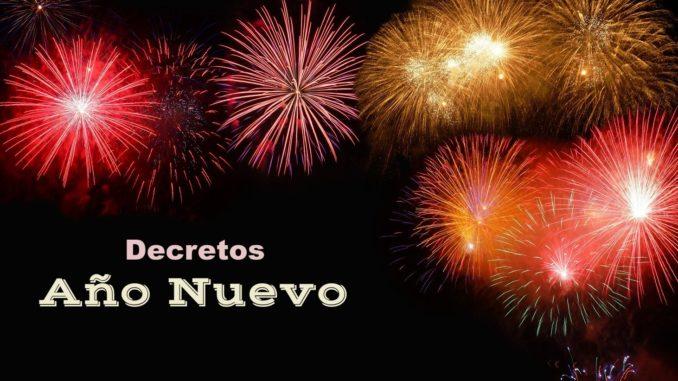 Decretos de Año Nuevo