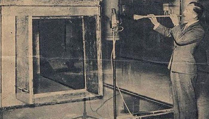 Trompetas malditas de Tutankamón