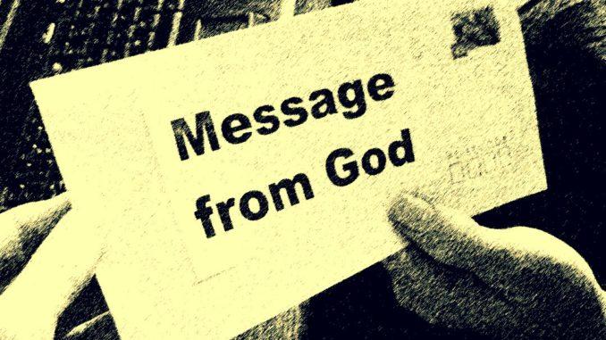 Carta de Dios durante el Coronavirus