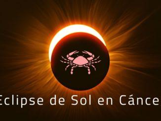 Eclipse de Sol en Cáncer 2020