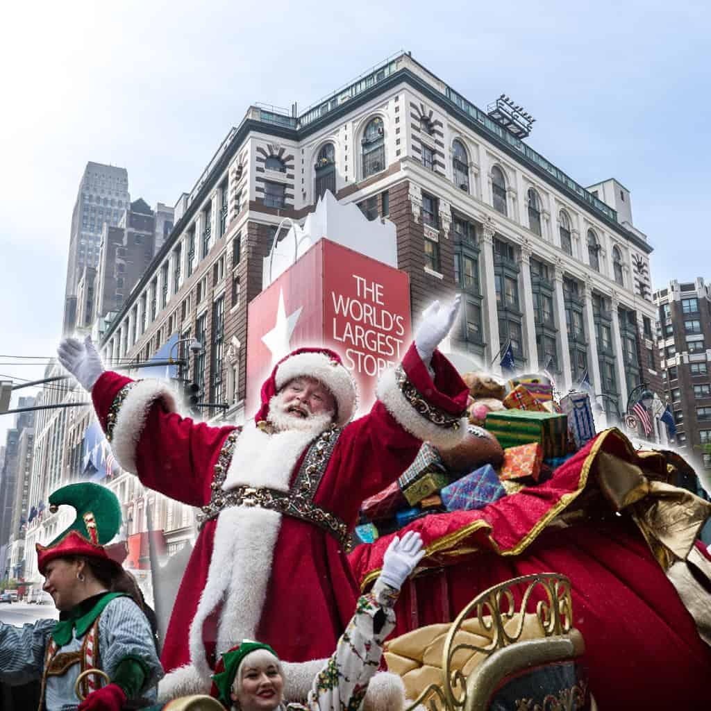 Santa Claus en Macys