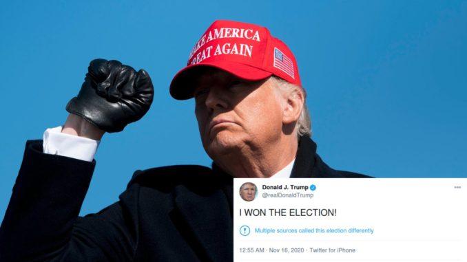 Por qué Donald Trump no acepta los resultados electorales