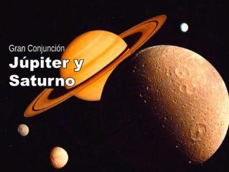 Gran Conjunción Júpiter y Saturno